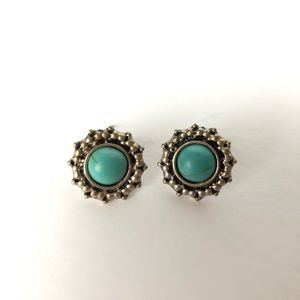 Jewelry - Turquoise Post Earrings